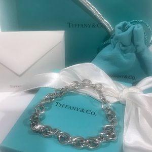 Tiffany & Co. medium round link bracelet